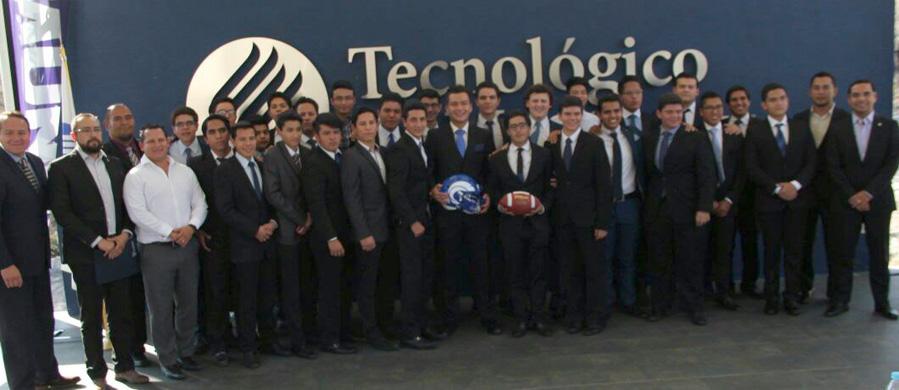 Alumnos del Tec Cuernavaca que inician con el programa de FBA