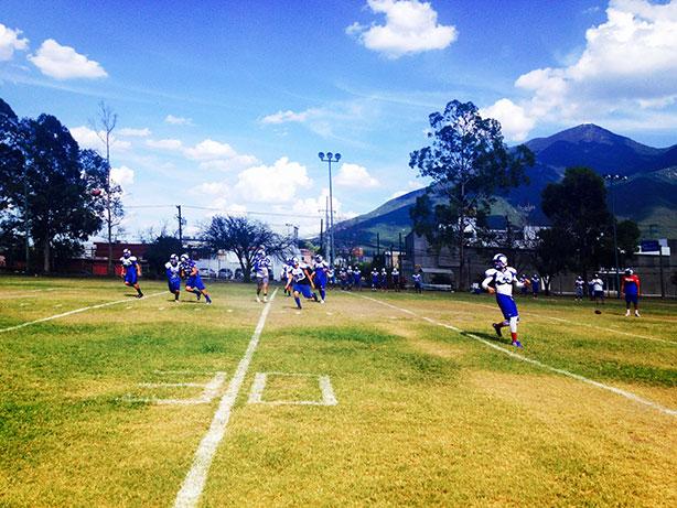 Borregos Monterrey intensifica su preparación primaveral