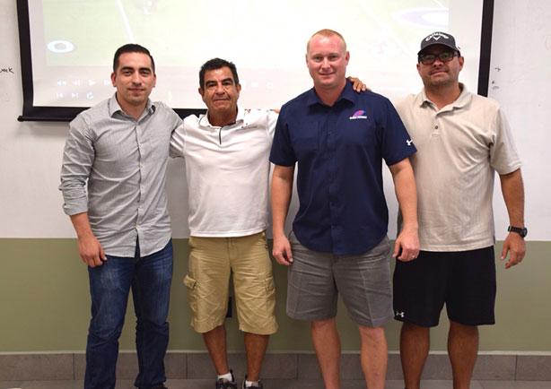HC Ernesto Campa y Joe Austin U. Southwestern