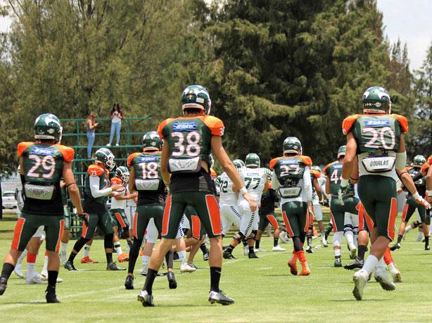 Aztecas de la UDLAP regresó a los entrenamientos