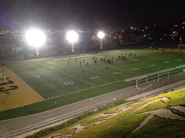 Zorros Tijuana mantiene entrenamientos nocturnos