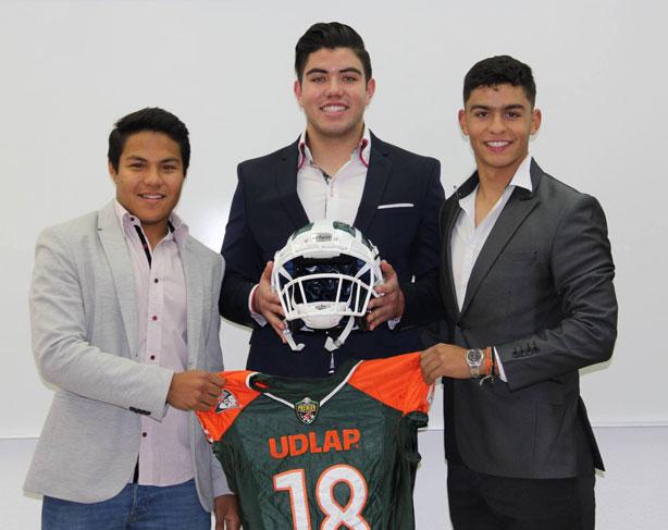 Nuevos reclutas para los Aztecas de la UDLAP