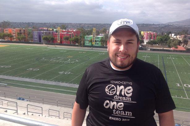 Jorge Lopez jefe de reclutamiento de Zorros Tijuana
