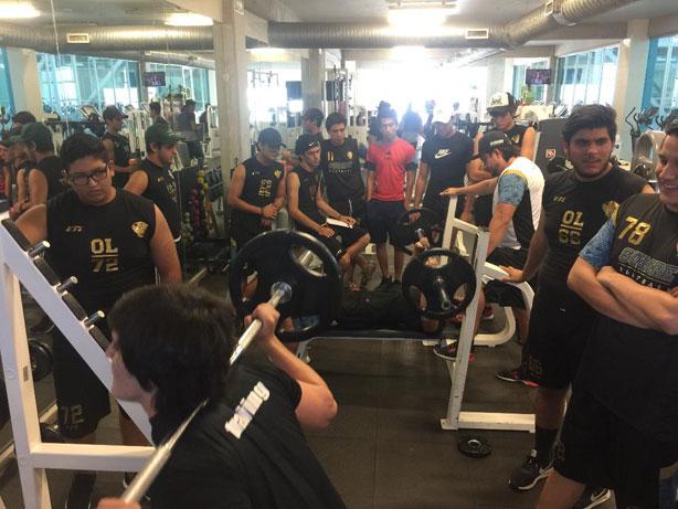 Gran asistencia de los Guerreros Jaguar a la etapa de gimnasio