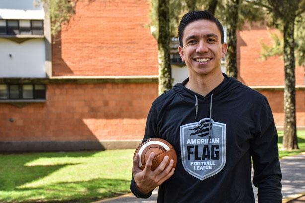 Edgar Valles un gran ejemplo de deportista y profesionista