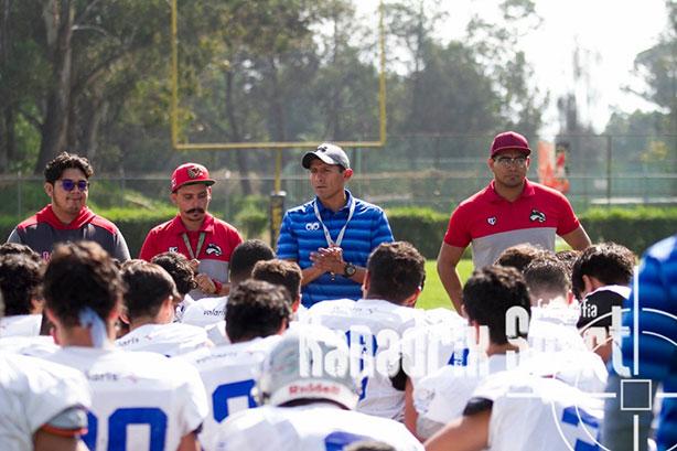 HC Carlos Vega y coaches de los Linces