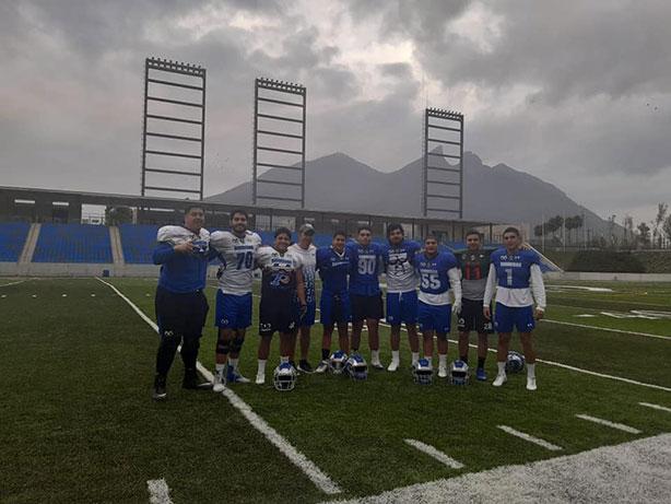 La delegación de Borregos Puebla en la Selección CONADEIP