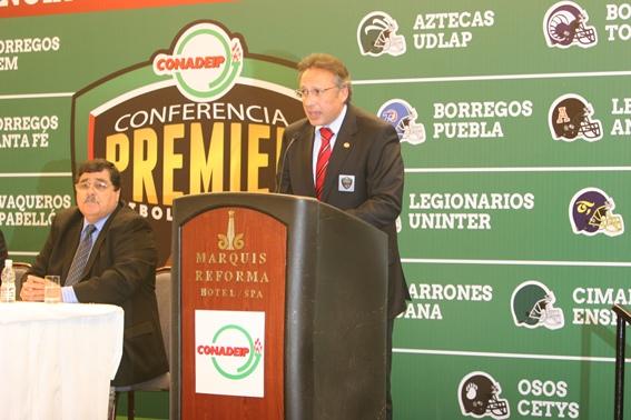 Lic. Eduardo Martínez de la Vega Presidente CONADEIP