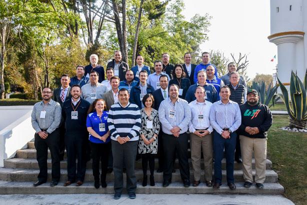 Participantes en la VII Asamblea General de FBA de la CONADEIP
