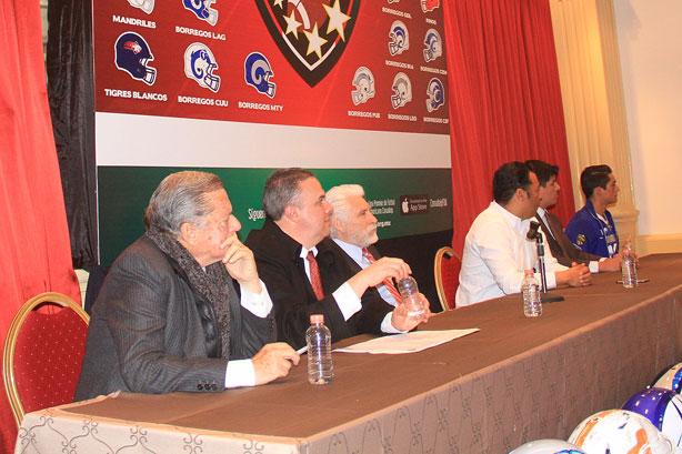 Autoridades de la CONADEIP en el evento