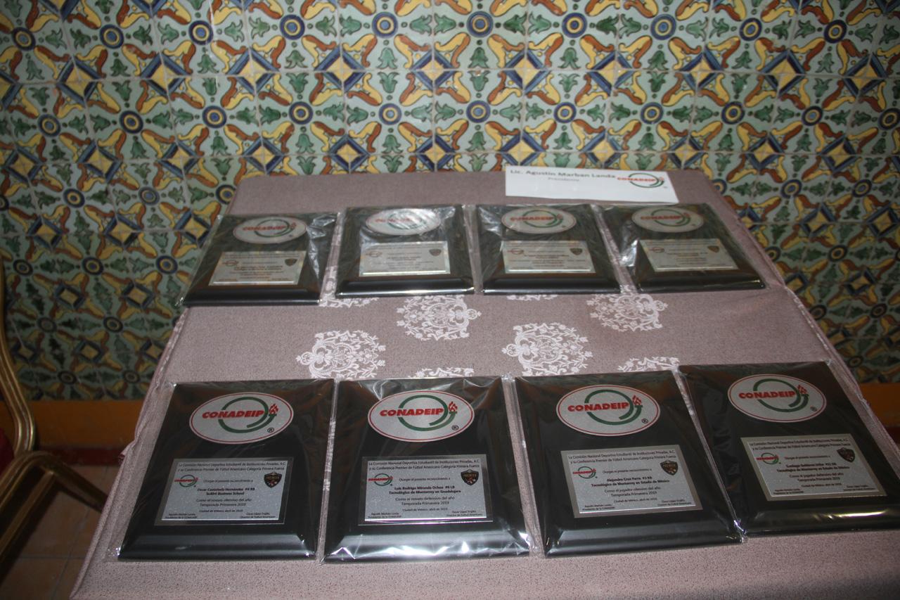 Premiación Temporada 2019 Categoría Juvenil