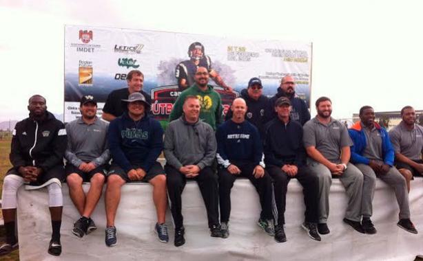 Los coaches norteamericanos que visitaron la UABC