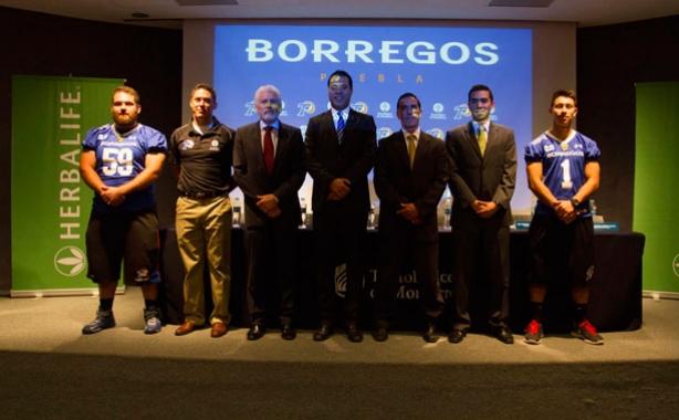 Presentación de los Borregos Puebla 2015