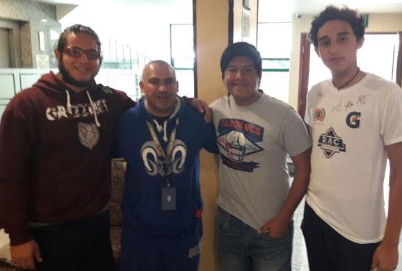 Grizzlies de Cabo San Lucas visitaron al Tec CCM