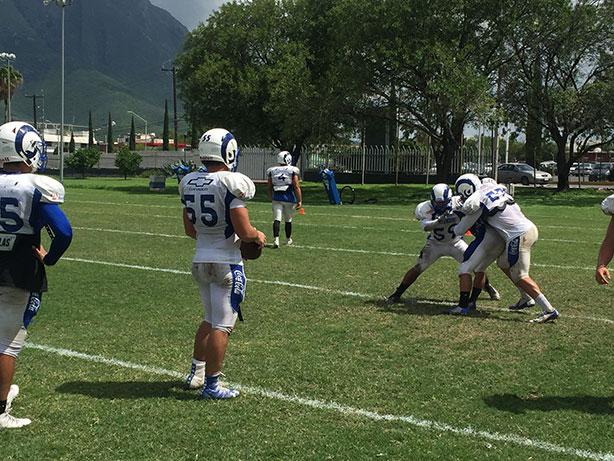 Borregos Monterrey realizó su passing camp