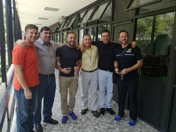 Coaches de CONADEIP presentes en la junta técnica