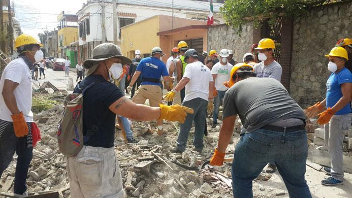 Gran ayuda y apoyo brindó Borregos Toluca