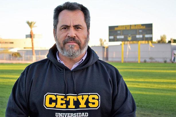 Luis Cervantes llega al CETYS a mantener la tradición ganadora