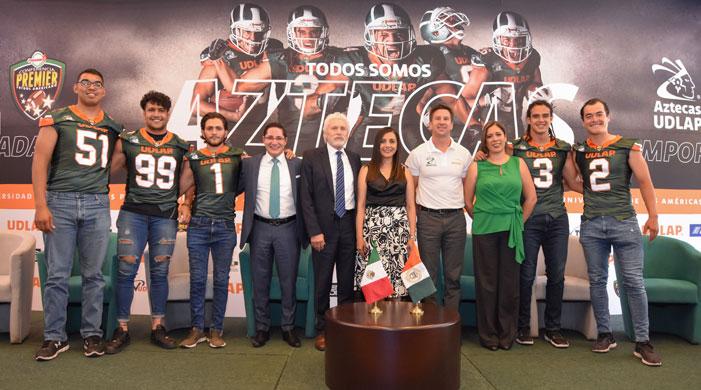 Aspectos de la presentación de los Aztecas UDLAP 2019