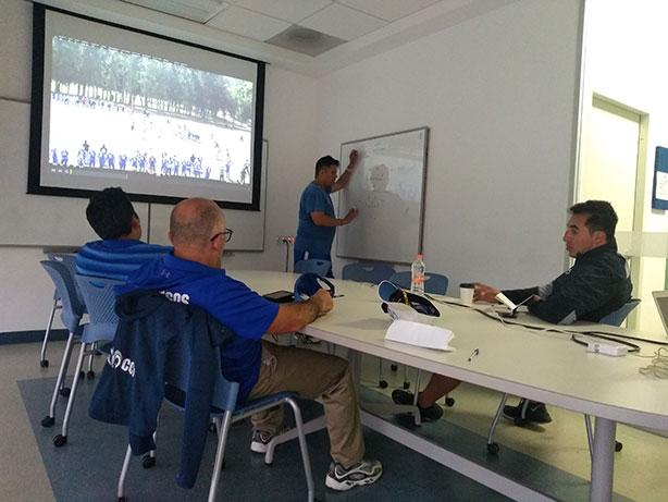 Los coaches de Borregos CCM visitaron a los de Guadalajara