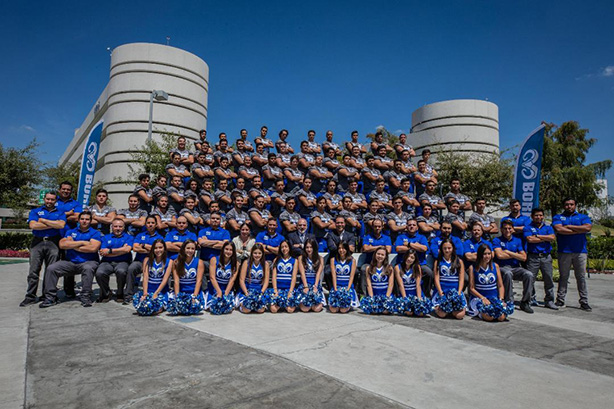 Se presentó al equipo de los Borregos Puebla 2019