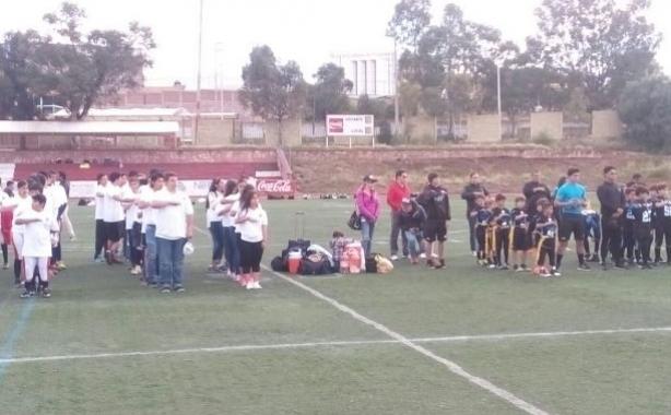 Ceremonia de inauguración de las infantiles en Zacatecas