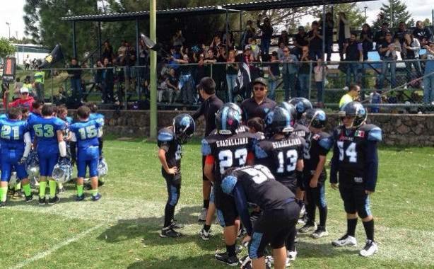 Acciones de los Guerreros Jaguar en Infantil Menor