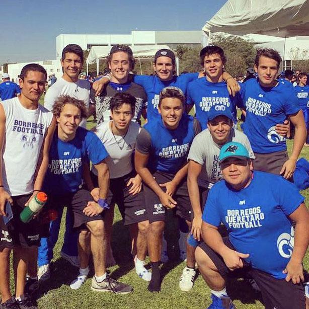 Jugadores de Querétaro disfrutraron la experiencia