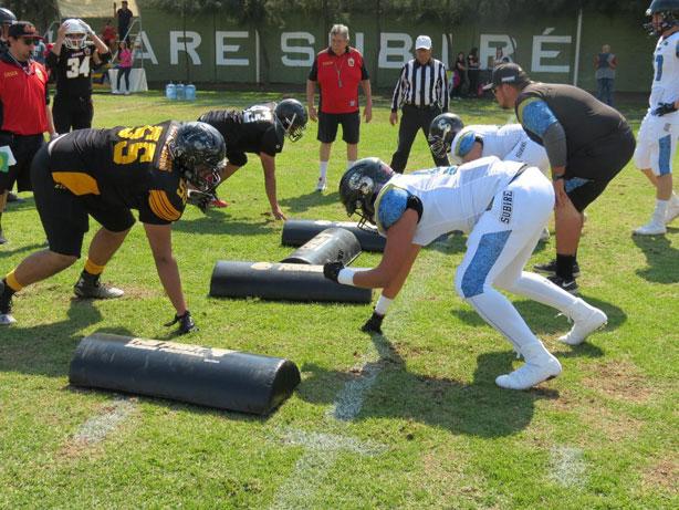 Guerreros Jaguar enfrentó a los Leones Negros