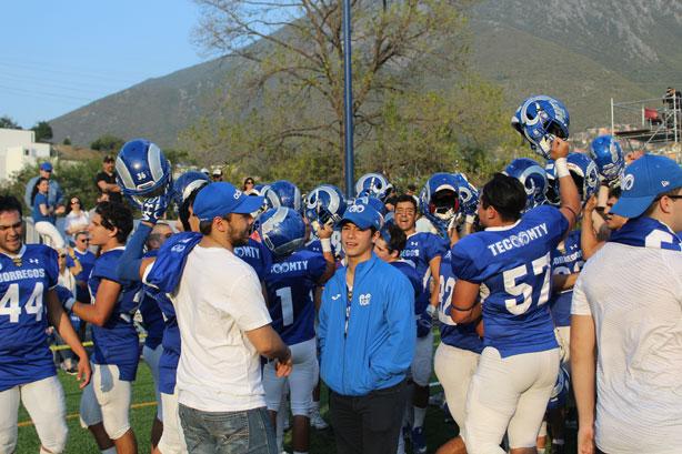 Segunda victoria para los Borregos PrepaTec Monterrey
