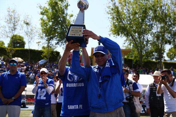 Los Borregos Santa Fe son los campeones de los grupos Revolución-Libertad