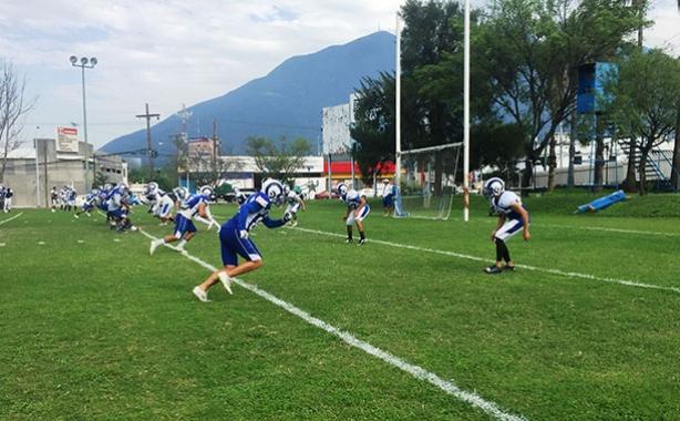 Borregos Monterrey se prepara para recibir a los Aztecas UDLAP